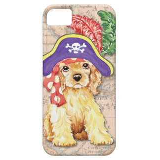 Cocker Spaniel Pirate Case For iPhone 5/5S