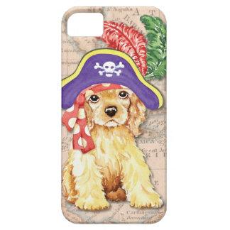 Cocker Spaniel Pirate iPhone 5 Cases