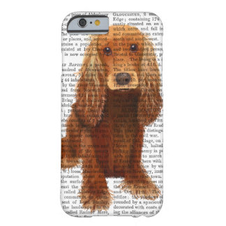 Cocker Spaniel Plain Barely There iPhone 6 Case