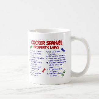 COCKER SPANIEL Property Laws 2 Coffee Mug