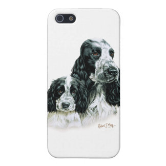 Cocker Spaniel & Pup Case For iPhone 5/5S