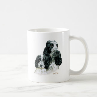 Cocker Spaniel & Pup Coffee Mug