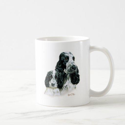 Cocker Spaniel & Pup Coffee Mug