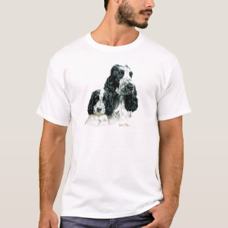 Cocker Spaniel & Pup T-Shirt