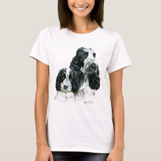 Cocker Spaniel & Pup T-Shirt