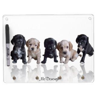 Cocker Spaniel Puppies Dry-Erase Boards