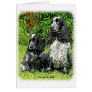 Cocker Spaniel puppy 9W017D-068 Card