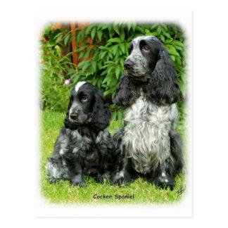 Cocker Spaniel puppy 9W017D-068 Post Card