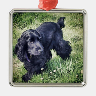 Cocker Spaniel Puppy Christmas Ornament