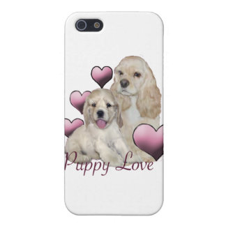 Cocker Spaniel Puppy Love Case For iPhone 5/5S