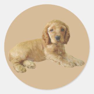 Cocker Spaniel Puppy Sticker