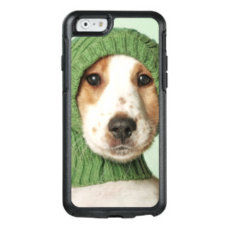 Cocker Spaniel Puppy Wearing Wool Cap OtterBox iPhone 6/6s Case