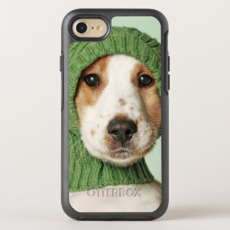 Cocker Spaniel Puppy Wearing Wool Cap OtterBox Symmetry iPhone 7 Case