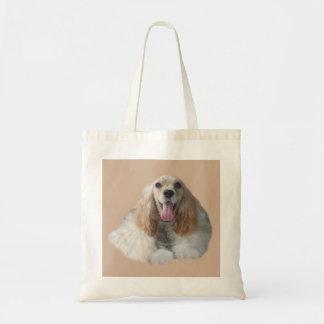Cocker Spaniel Smiling Tote Bag