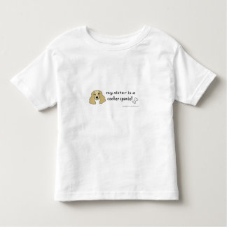 cocker spaniel toddler T-Shirt