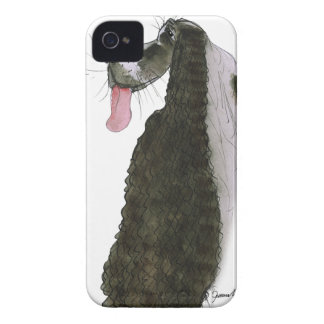 cocker spaniel, tony fernandes iPhone 4 Case-Mate cases