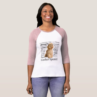 Cocker Spaniel Traits T-Shirt