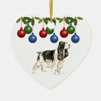 Cocker Spaniel Xmas Ornament