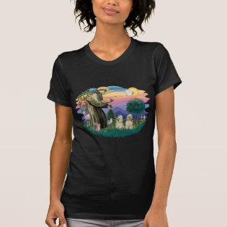 Cocker Spaniels (two buff) T-Shirt