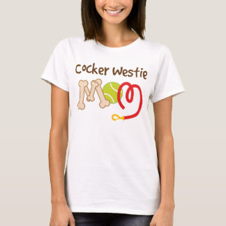 Cocker Westie Dog Breed Mom Gift T-Shirt