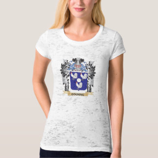 Cocking Coat of Arms - Family Crest Tee Shirts