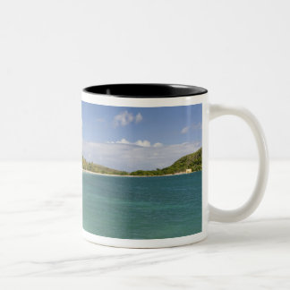 Cockleshell Bay, southeast peninsula, St Kitts, Two-Tone Coffee Mug