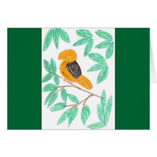 CockOdaRock Parrot Art Greeting Cards