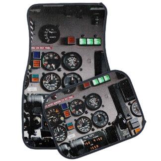 Cockpit Car Mat
