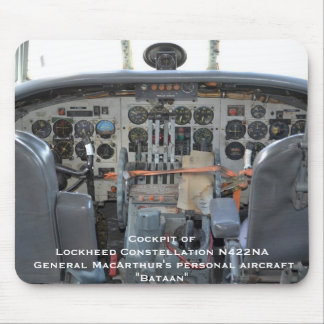"Cockpit - General McArthur's ""Connie"" Mouse Pad"