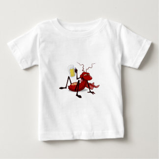 cockroach drunk with beer shirts