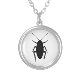 Cockroach Silver Plated Necklace