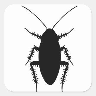 Cockroach Square Sticker