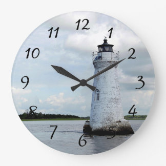 Cockspur Island Lighthouse Large Clock