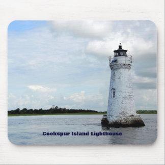 Cockspur Island Lighthouse Mouse Mat