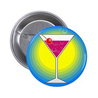Cocktail 6 Cm Round Badge