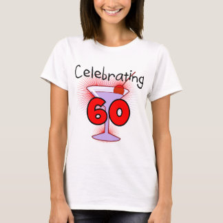 Cocktail Celebrating 60 Tshirts and Gifts