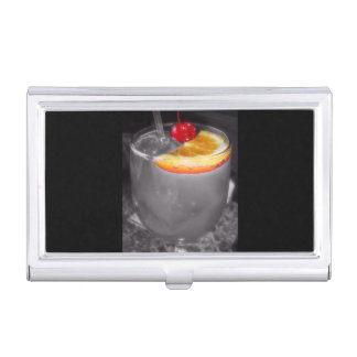 Cocktail Drink Happy Hour Bartending Case For Business Cards