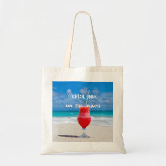 Cocktail Drink On The Beach Tote Bag