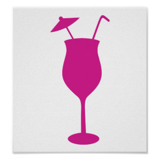 Cocktail drink print