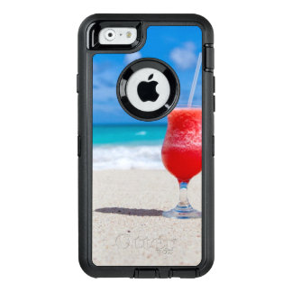 Cocktail Drink Tropical beach Turquoise Water OtterBox iPhone 6/6s Case