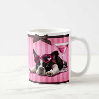 Cocktail French Bulldog Coffee Mug