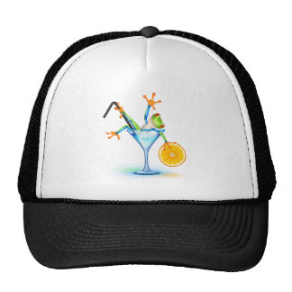 Cocktail Frog Cap