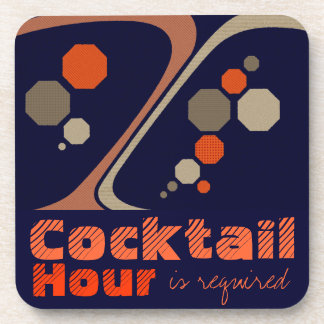Cocktail Hour is Required Coasters