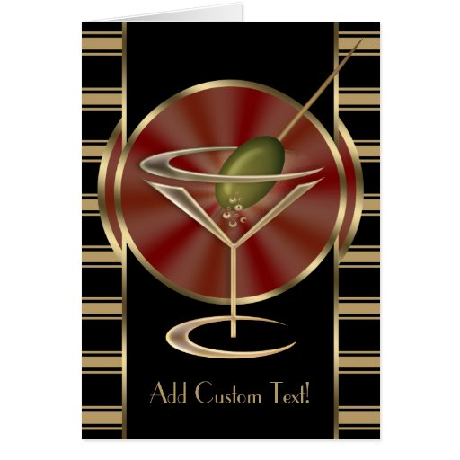 Cocktail Lounge Card