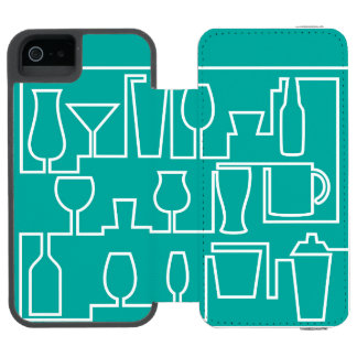 Cocktail maze incipio watson™ iPhone 5 wallet case