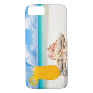 Cocktail on the Beach II iPhone 7 Case
