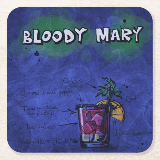 Cocktail Party Coaster Collection - Bloody Mary