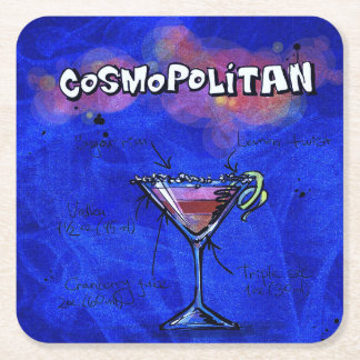 Cocktail Party Coaster Collection - Cosmo