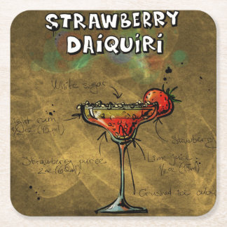 Cocktail Party Coaster Collection - Daiquiri