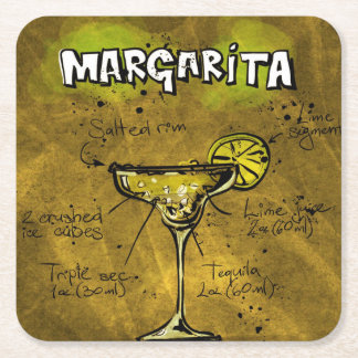 Cocktail Party Coaster Collection - Margarita